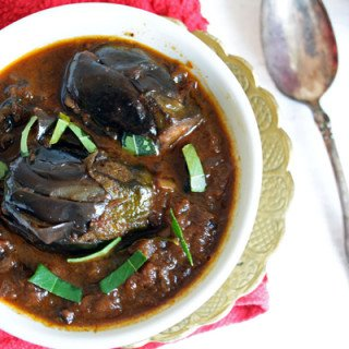 Brinjal Side Dish best to be paired up with Biryani