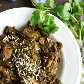 Coriander Pepper Chicken-Cilantro Chicken Recipe