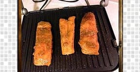 Grilled Salmon Fish steps and procedures
