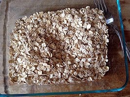 Homemade Granola steps and procedures