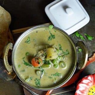 Parotta Stall style Vegetable Kurma