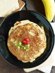 Sweet Banana Maida Dosai- Instant Recipe