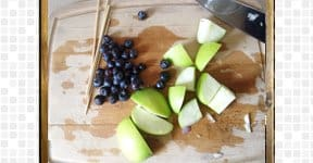Green Apple Blue Berry steps and procedures