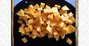 Butternut Squash Kootu steps and procedures