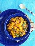 Butternut Squash Kootu-South Indian Fusion Recipe