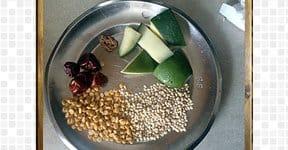 Raw Mango Chutney steps and procedures