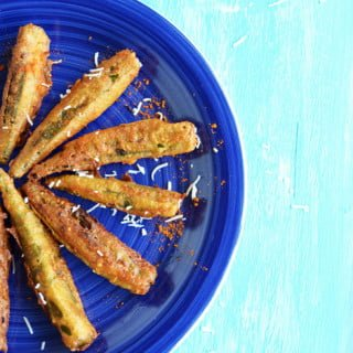 Crispy Stuffed Bindi, kiddos friendly appetizer