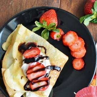 French Crepe Recipe with 5 simple steps
