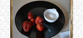 Strawberry Milk Shake Recipe, steps and procedures