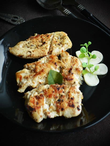 Garlic Chicken, Pan Fried Recipe
