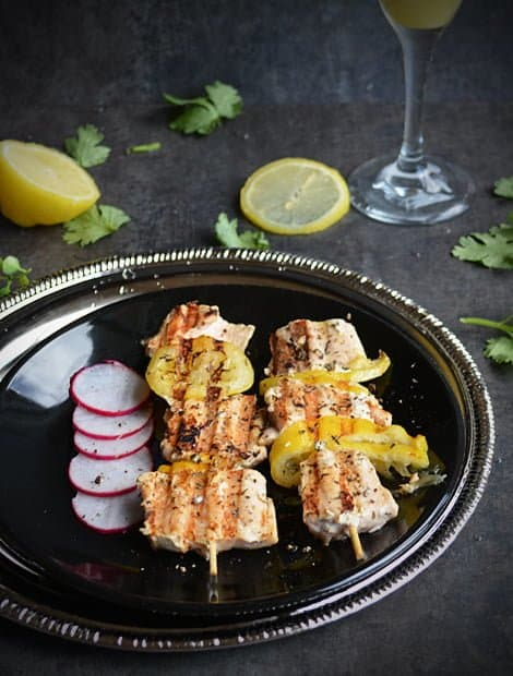Easy Grilled Salmon Recipe with Lemon
