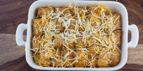 ready to base with loads of cheese.