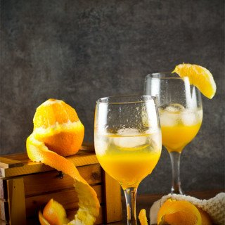 orange spritzer non alcoholic recipe