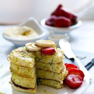 Zucchini pan cake recipe