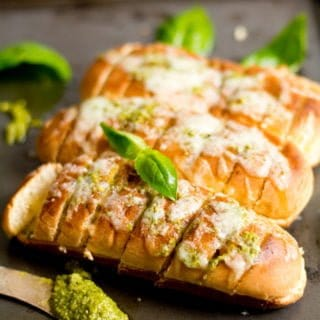 Basil pesto Bread roll Recipe