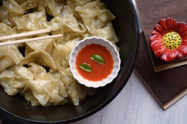 Pan fried wontons recipe yields soft, chewy and crispy at the bottom. Make this Chinese style dinner very easier to make, perfect for any party, gatherings, and potlucks.