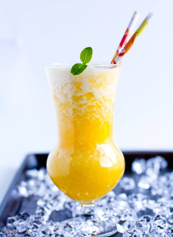 Mango Pineapple Smoothie recipe brings all the fresh tropical flavors of mango and pineapple. It tastes delicious, creamy with all the goodness of fresh fruits.