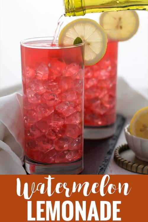 Watermelon lemonade recipe is super simple, easy, and healthy as well. A great non alcoholic party drink not made from fresh fruit and not from concentrate. It is homemade with mint, watermelon and squeezed lemon. This drink would be a great fun for the kids and everyone else in the family.