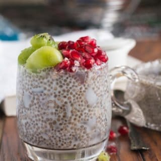 Coconut chia pudding recipe | Vegan, Low-carb