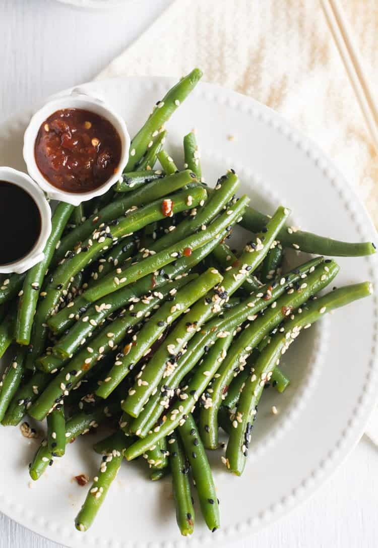 Chinese green beans, an easy recipe made with soy sauce. This is an Asian style spicy and healthy stir fry. I'm sure your family will love this low carb, vegan dish. It simple and tastes heavenly. Best to serve with fried rice.