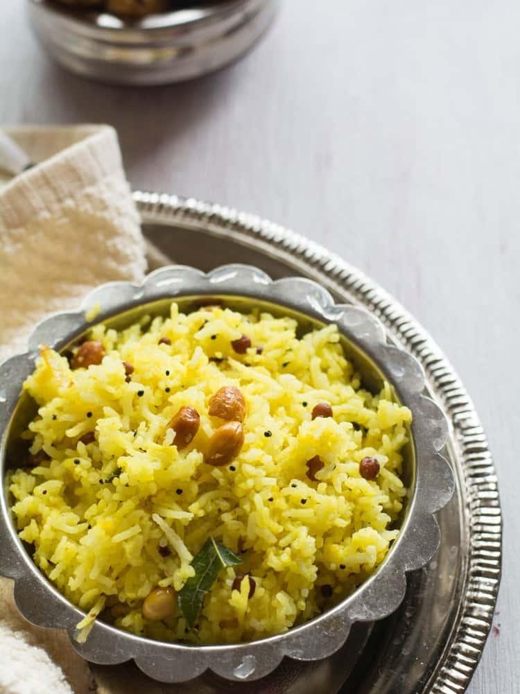 Easy Chitranna Rice Recipe