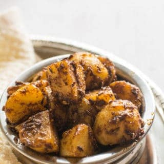 Jeera aloo, Indian cumin potatoes