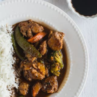 Asian szechuan chicken, Easy Dinner Recipe
