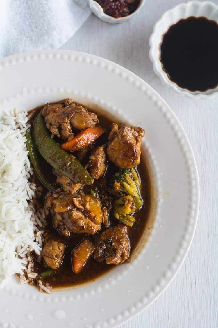 Asian szechuan chicken is so delicious, It is hot and spicy. You can make your own Asian take-out in the comfort of home with less than 20 minutes.