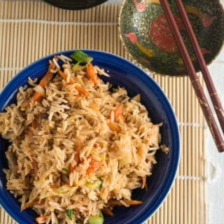 Spicy schezwan fried rice recipe