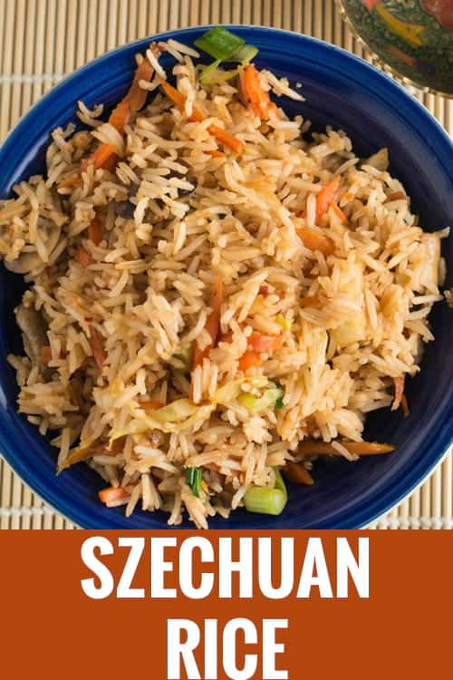 Spicy schezwan fried rice recipe pepper bowl schezwan fried rice is an easy homemade chinese recipe made with vegetables learn how to forumfinder Images