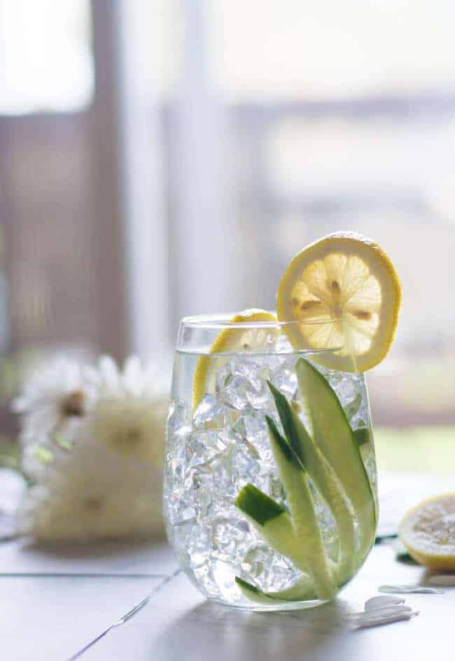 Cucumber Detox water is cool and easy recipe perfect for summer.