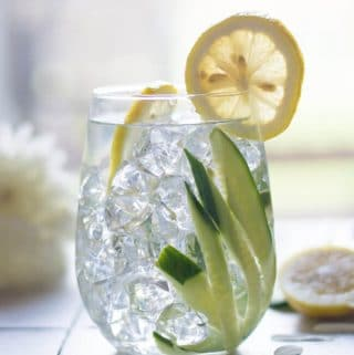 Easy Cucumber Detox water recipe