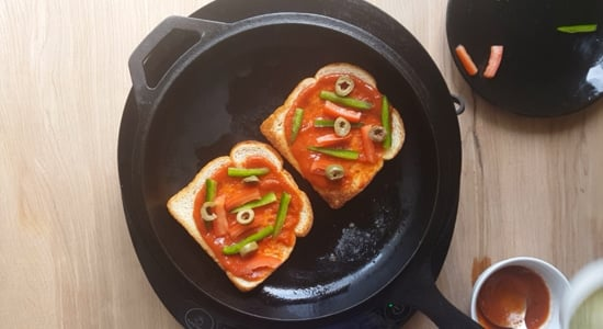Bread pizza-step-2