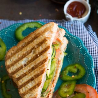 Healthy Bombay Toast Sandwich Recipe