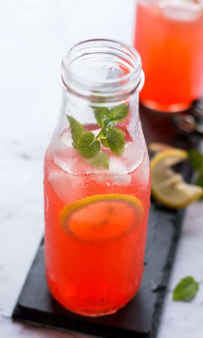 Watermelon mojito recipe is so easy to make using up fresh watermelon. You can make in large pitcher under 15 minutes which is perfect to fit all your parties drink needs.
