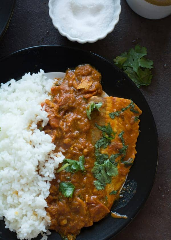 Indian Style Salmon Curry Recipe With Minimized The Processes And Reduced Ingredients List To