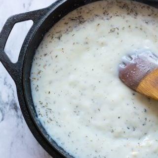 vegan coconut milk alfredo sauce