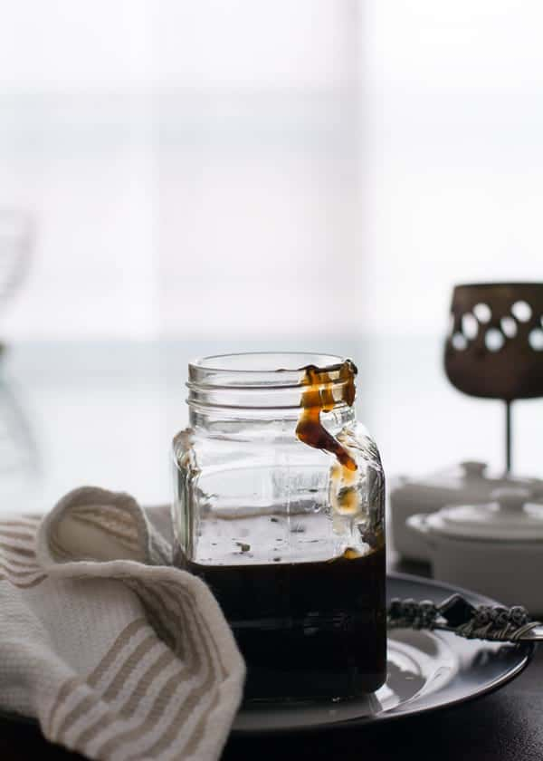 store homemade teriyaki sauce, which is easy and simple to make within 20 minutes.