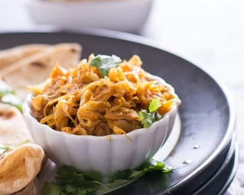 Indian Cabbage curry recipe