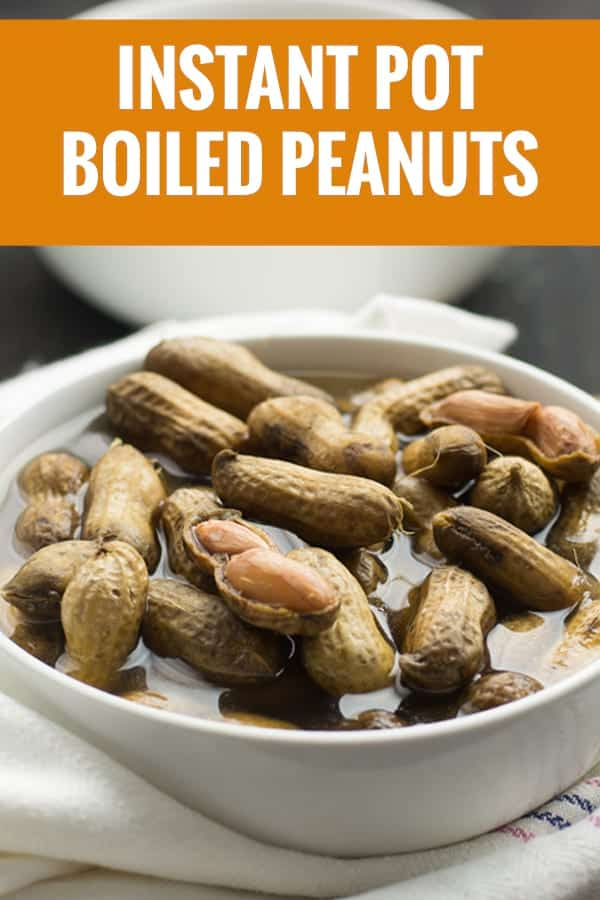 Boiled peanuts with Instant pot recipe. made effortlessly for the whole family and friends.  The peanuts will soft and moist, slightly crunchy. Tastes nutty and salty with the spices like cajun or old bay