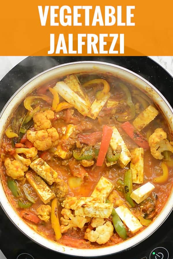 Vegetable Jalfrezi, Learn how to make this Indian style mixed vegetable stir fry in tomato curry. Zesty vegetables meet with spicy onion and tomato gravy to make an absolute luscious Indian side dish called Vegetable Jalfrezi. This recipe is simple and straightforward. And absolutely, ready to serve in less than 30 minutes.