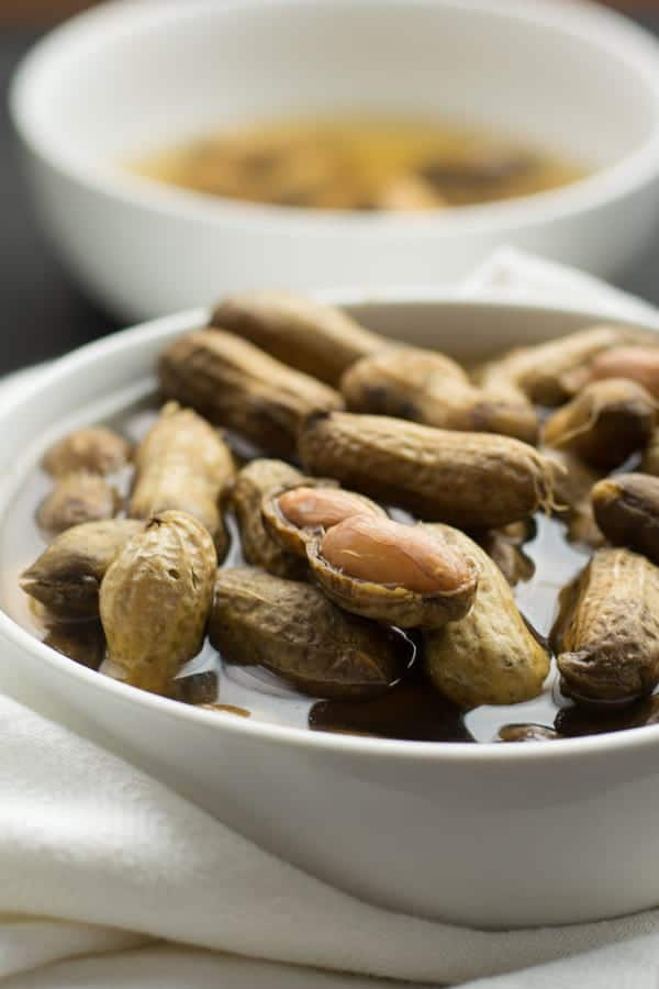 The Instant pot boiled peanuts are tasty when salted. For 2 pounds of peanuts, we need 4 tablespoons of salt. This may sounds more.