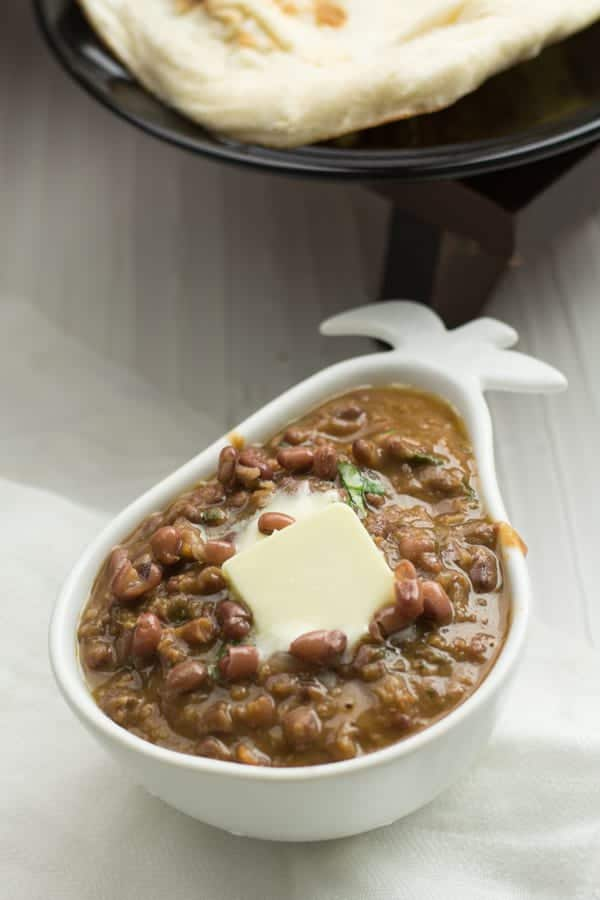 Madras lentil is an Indian style vegetarian chili. Plus, it is an Anglo-Indian a recipe, where the lentil is made in the Madras style. Madras is a huge Province in India in the last century. Which is known for its rich, light lentils and beans dishes.