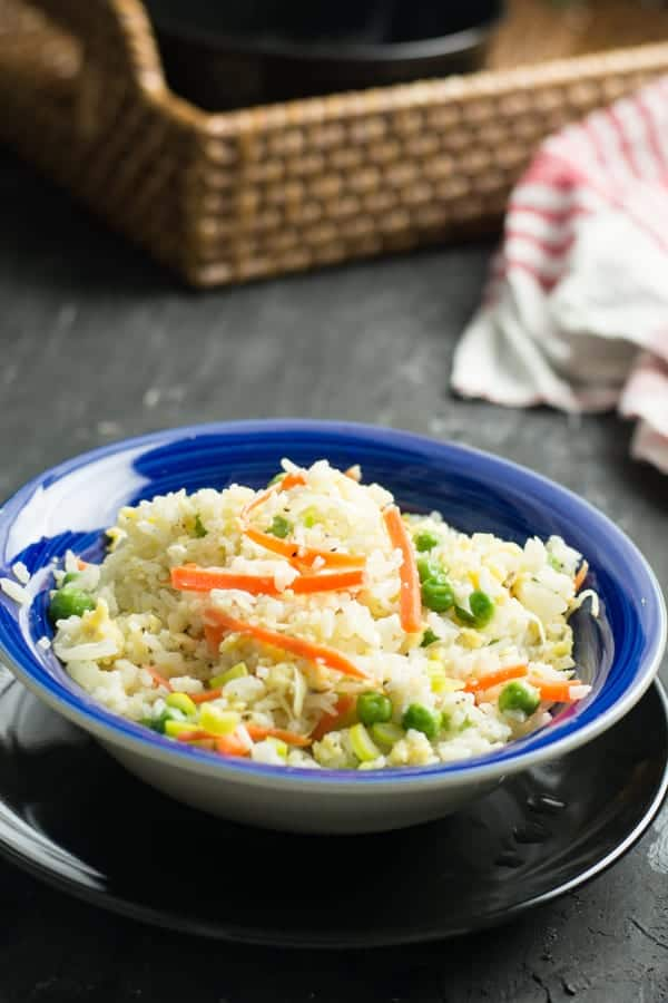 This egg fried rice is the Chinese recipe modified to the Indian palates. Not to mention that this is tasty with loads of vegetables. Makes it loved by everyone