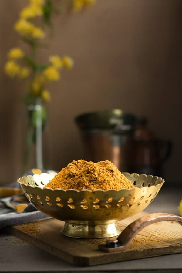Madras curry powder adds aroma to fish, shrimp or chicken recipe. This homemade hot Madras curry powder saves and made to suit your preference.