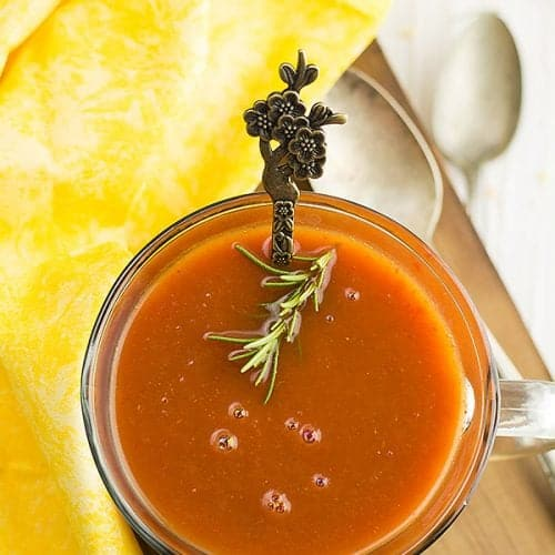 this tomato soup from tomato paste. It is smooth, filling, dead easy and finally, it is very delicious. This family-friendly dish requires just four easily available pantry-ready ingredients