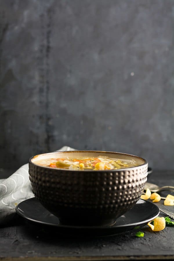This Indian vegetable soup recipe is simple and straight forward. And, it's with the minimal ingredients that any average stores carry in the U.S. And most importantly, you can use your Instant pot, slow cooker or a pot to make this warm, comfort soup.