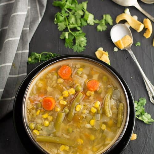This Indian vegetable soup recipe is truly an inspirational dish, that stole your heart. A filling, healthy, delicious soup made in Indian style, with the right balances of hot and sour in a meaningful way.