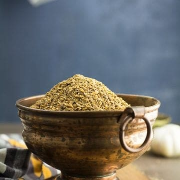 Rasam powder recipe is the key ingredient for making an authentic South Indian Rasam. Very aromatic, hot and tastes delicious. This spice mix is made with black pepper, cumin seeds, coriander seeds, and Toor dal(split pigeon pea).