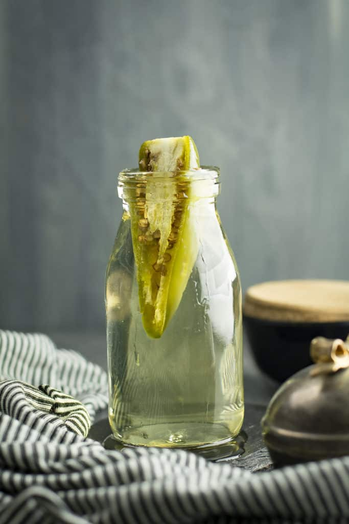 Learn how to make easy jalapeno simple syrup to make your cocktails, margaritas flavorsome with a spice kick-effortlessly and quickly.